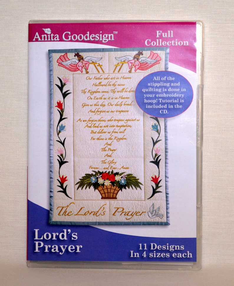 The Lord/'s Prayer            Anita Goodesign            NEW