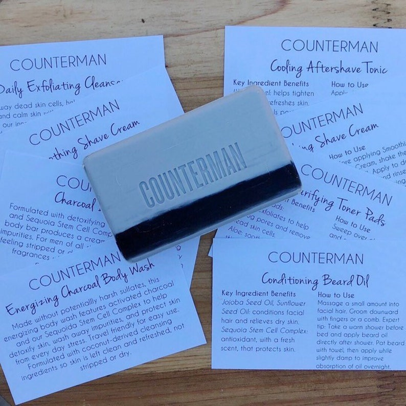Counterman Tip Cards | INSTANT DIGITAL DOWNLOAD