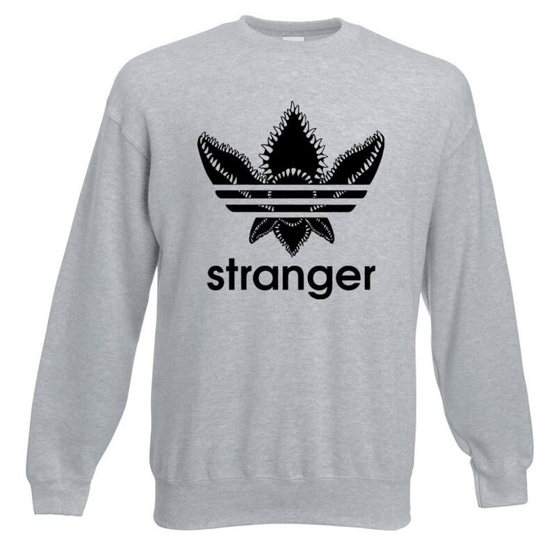 Casual Unisex Cool Pullover Adidas Demogorgon Stranger Sweatshirt Funny Things 2D9IEWH