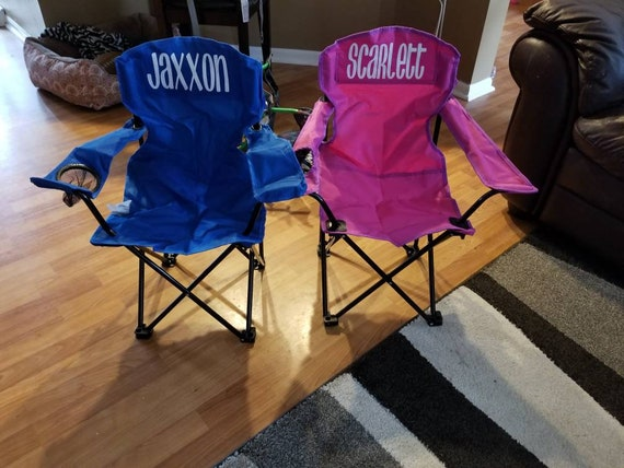 Cool Personalized Kids Camping Chairs Ocoug Best Dining Table And Chair Ideas Images Ocougorg