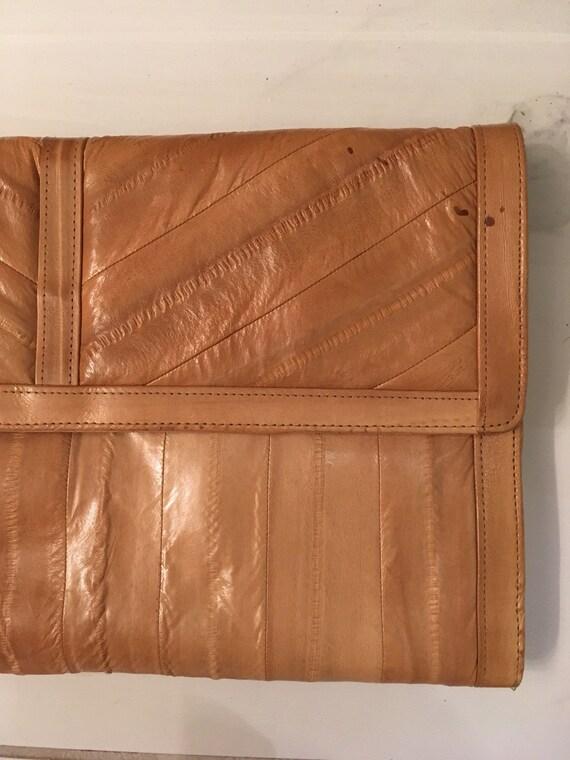 EEL skin clutch & coin purse - image 6