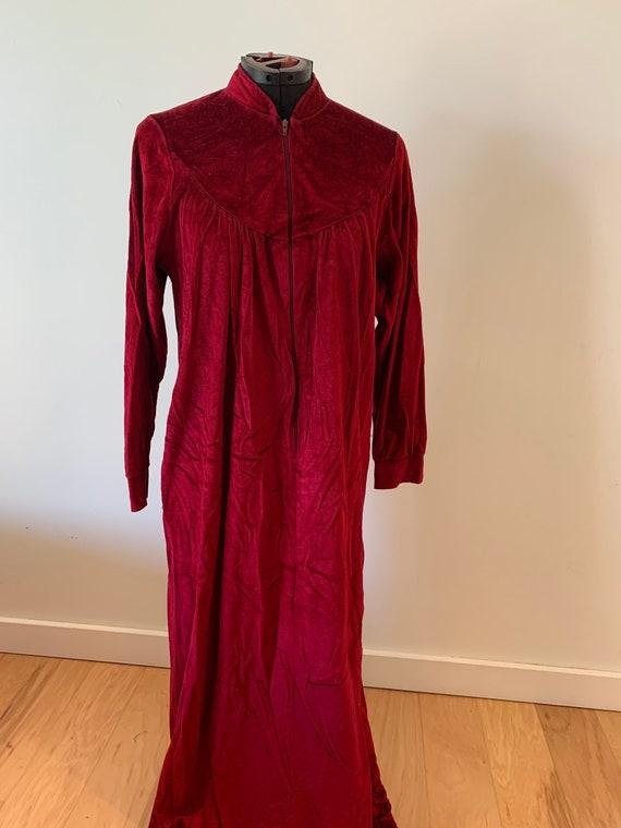Vintage Velvet Dressing gown