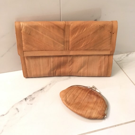 EEL skin clutch & coin purse - image 1