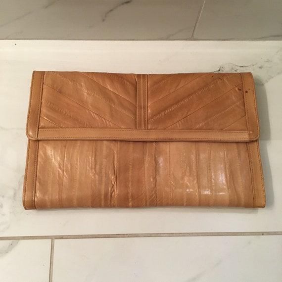EEL skin clutch & coin purse - image 10