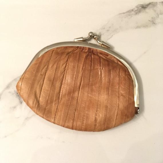EEL skin clutch & coin purse - image 7