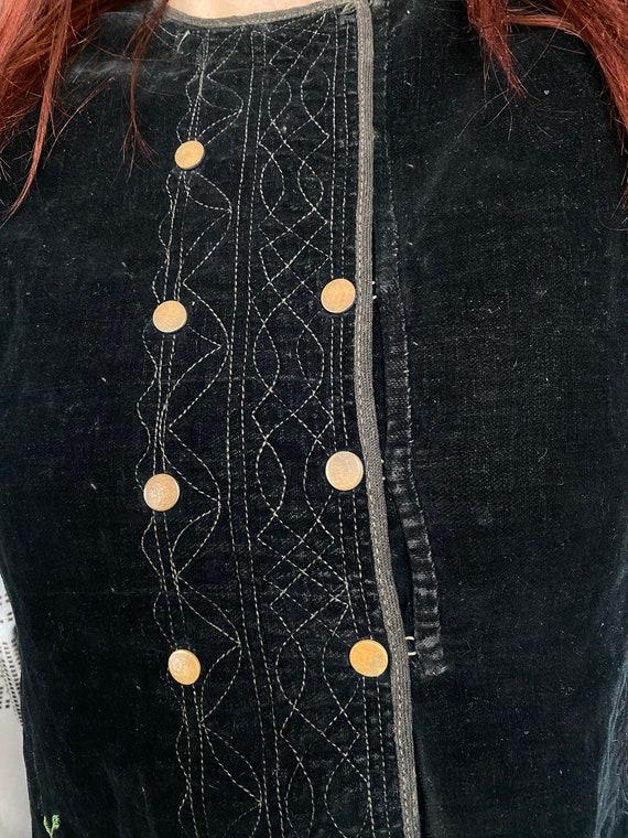 Noble Vest Velvet vest Vintage vest Antique vest … - image 7