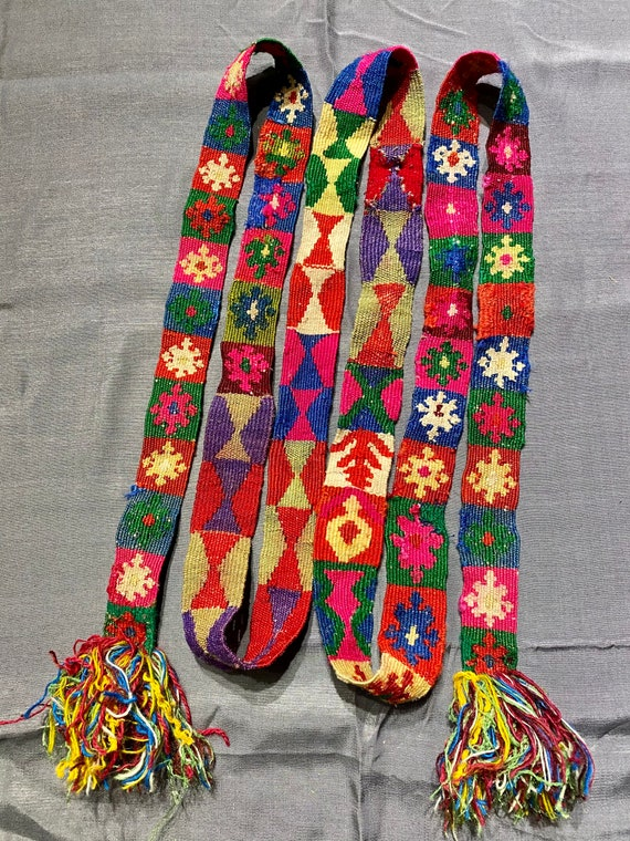 Handmade belt! Handwoven belt! Completley handmade