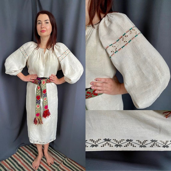 Antique dress Embroidered dress! Bohemian style An
