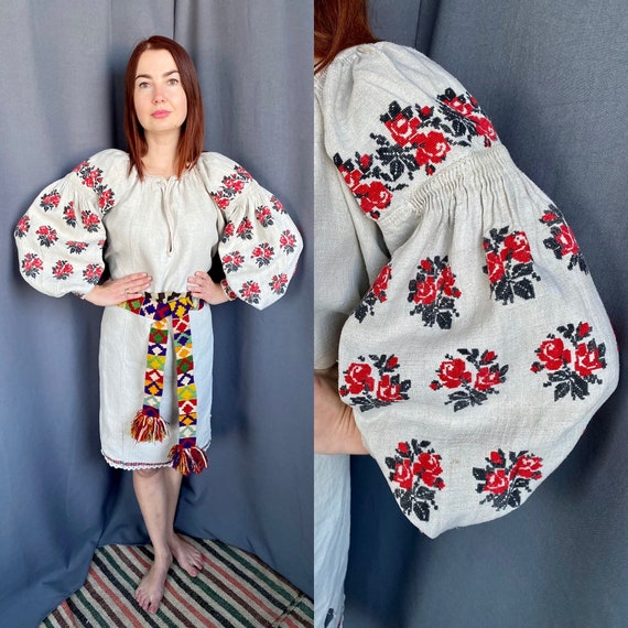 Please don't buy Richly embroidered Ukrainian dres
