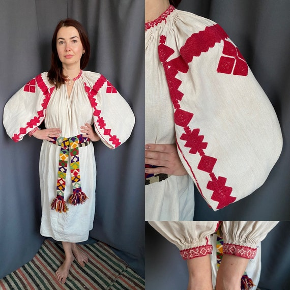 Rare one! Embroidered dress Collectible dress Anti