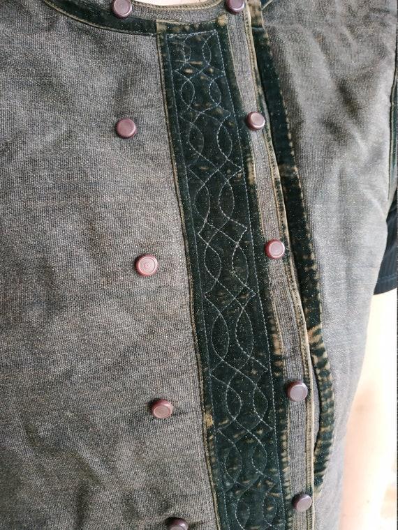 Vest Ukrainian vest Vintage vest Antique vest Fol… - image 4