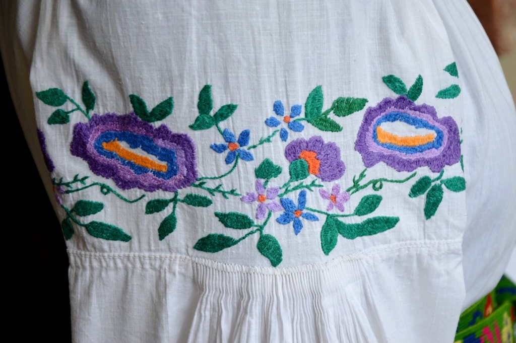 d80b8ddad1a Embroidered vyshyvanka Antique handmade sorochka traditional