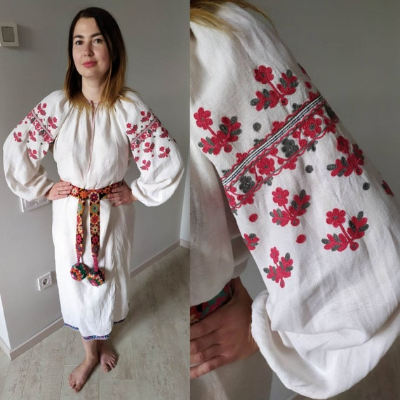 Interesting embroidering! Еthno  clothing! Antique