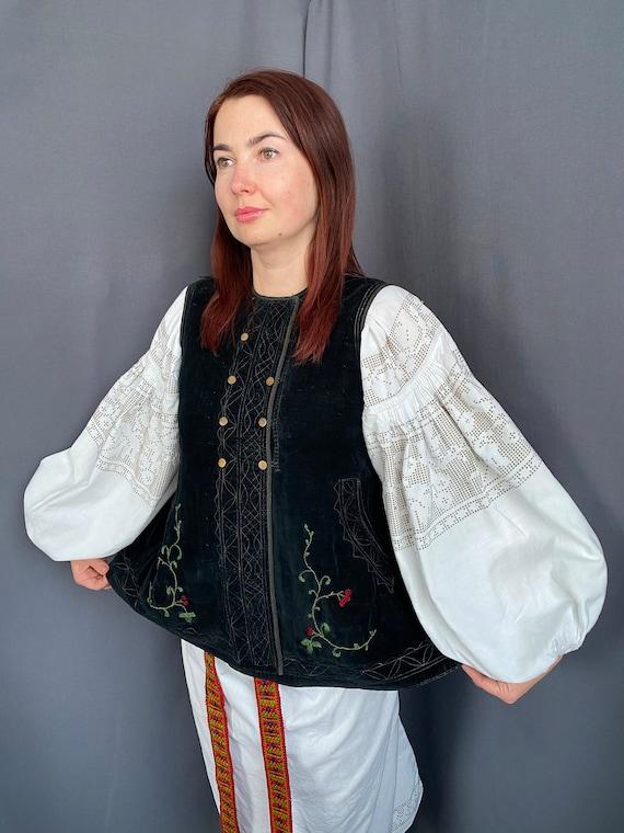 Noble Vest Velvet vest Vintage vest Antique vest … - image 2