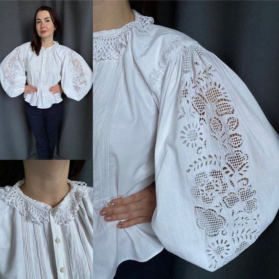 Reserved! Hungarian blouse Antique blouse Embroide