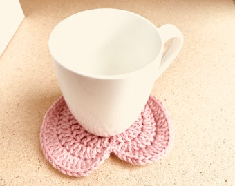Heart Shaped Coasters for Valentine's Day (Set of 2)