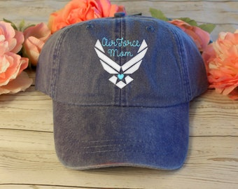 6f4206c71c4 Distressed Embroidered Air Force Embroidered Hat
