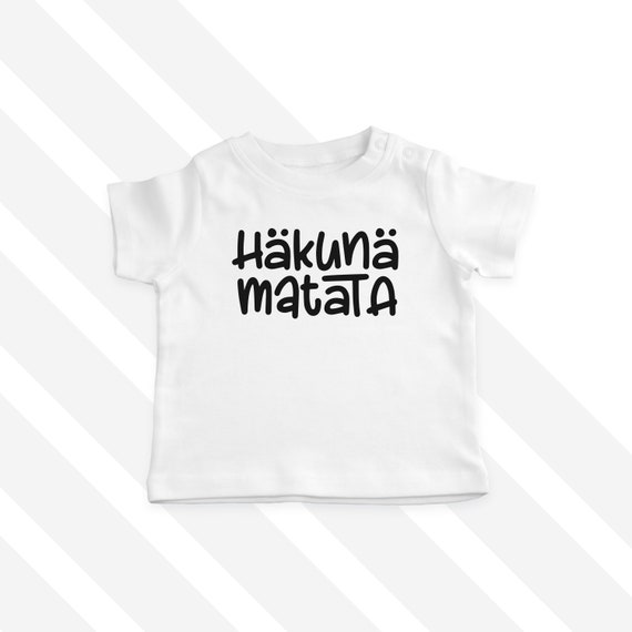 a3cd9f4c478b Hakuna Matata T-Shirt Baby T-Shirt Toddler T-Shirt Baby