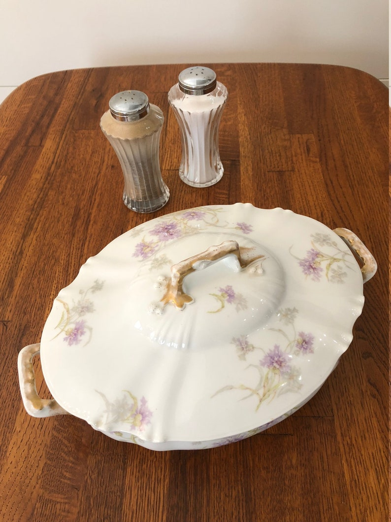 Theodore Haviland Limoges Serving Dish /& Lid Limoges Vegetable Dish Collectible Limoges China,Vintage Limoges Bowl Antique Porcelain Dish