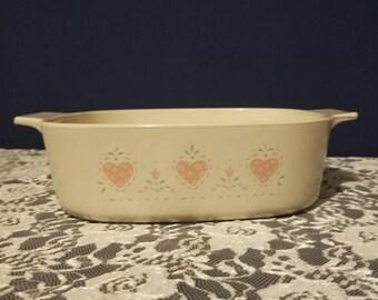 Vintage Corningware Casserole Dish
