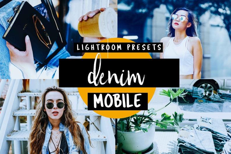 Cold Blue Mobile Lightroom Preset - Denim