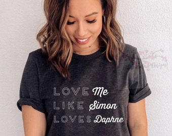 Love me like Simon love Daphne