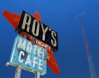 Vacancy at Roy's - 4x6 Print