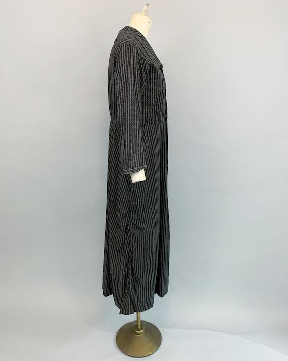 Antique 1900s 1910s calico work dress   Victorian… - image 6