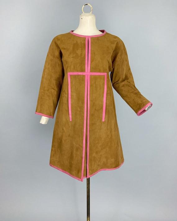 Vintage 60s Bonnie Cashin Sills suede dress | 196… - image 10
