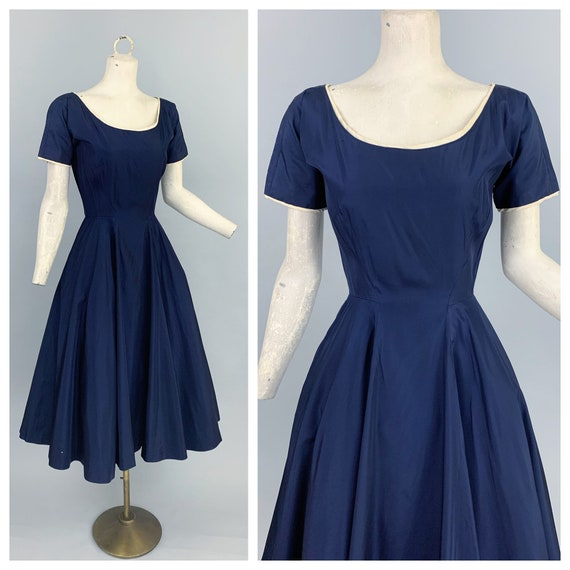 Vintage 50s Anne Fogarty party dress | 1950s Anne