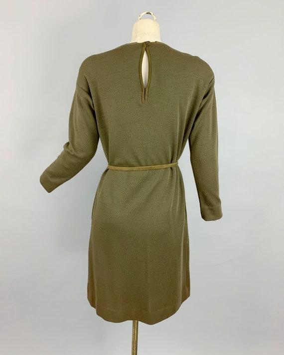 Vintage 60s Bonnie Cashin Sills suede tunic & kni… - image 4