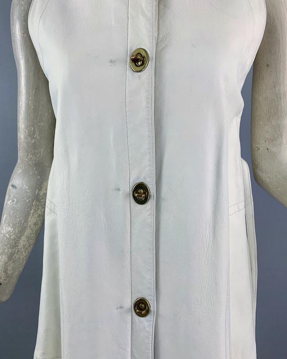 Vintage 60s Bonnie Cashin Sills leather dress   1… - image 4