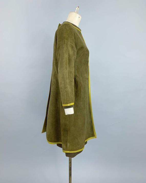 Vintage 60s Bonnie Cashin Sills suede tunic & kni… - image 9
