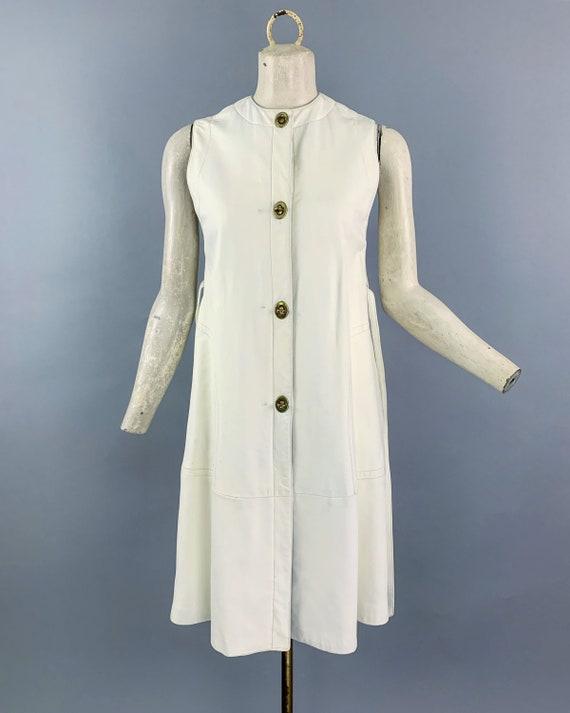 Vintage 60s Bonnie Cashin Sills leather dress   1… - image 3
