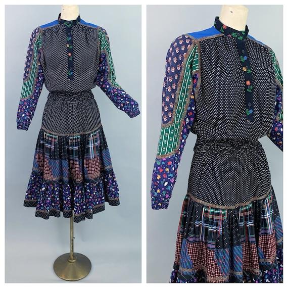 Vintage 80s KOOS Van Den Akker top and skirt | 198