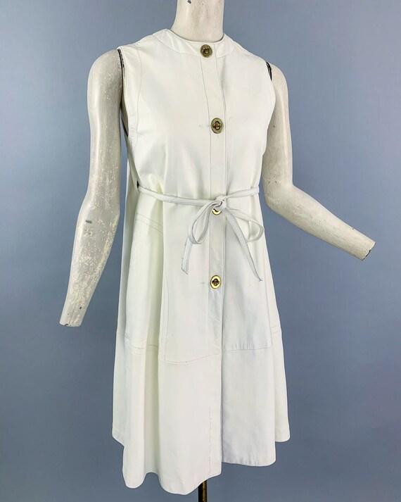 Vintage 60s Bonnie Cashin Sills leather dress   1… - image 5