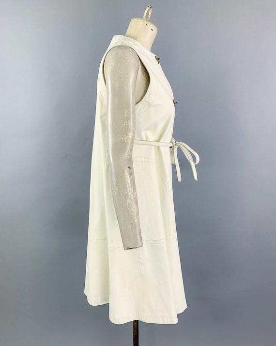 Vintage 60s Bonnie Cashin Sills leather dress   1… - image 6