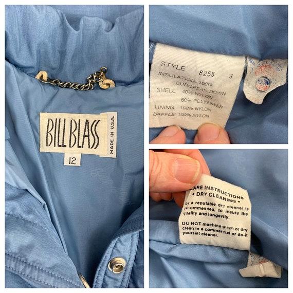 Vintage 80s Bill Blass down maxi puffer coat | 19… - image 10