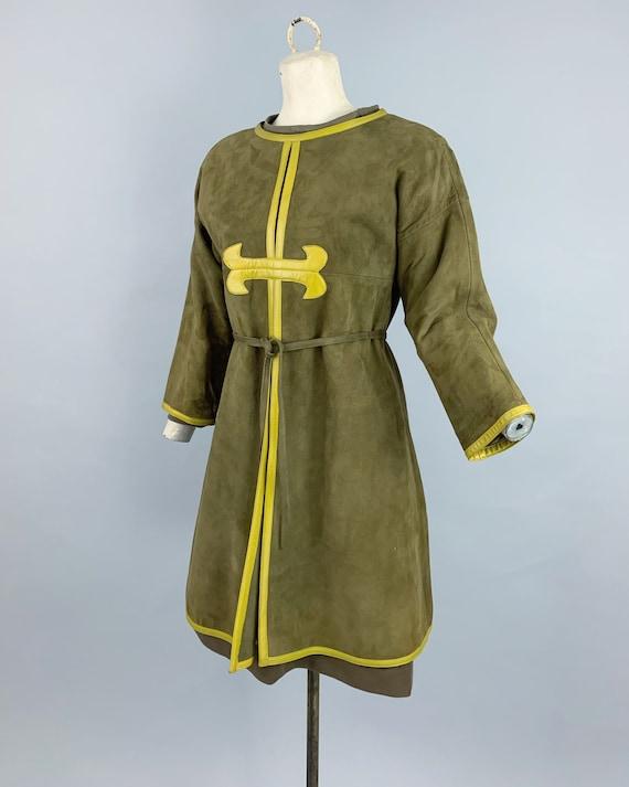 Vintage 60s Bonnie Cashin Sills suede tunic & kni… - image 8