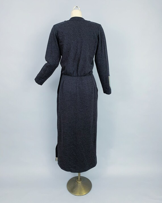 Vintage Yves Saint Laurent RIVE GAUCHE wool dress… - image 10