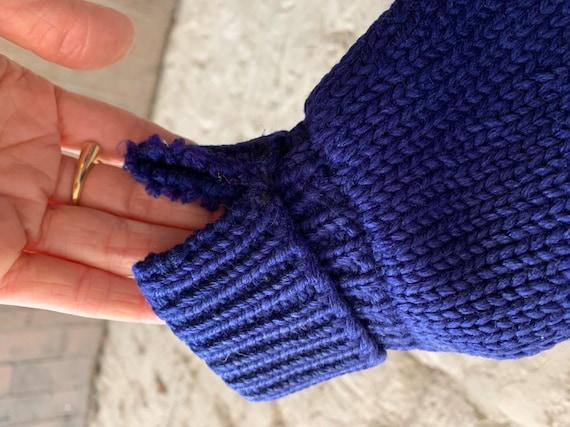 Vintage 50s Bradley Knitwear wool varsity letterm… - image 10