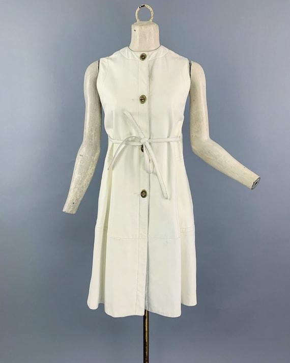 Vintage 60s Bonnie Cashin Sills leather dress   1… - image 2