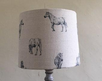 Milton and manor pony lampshade