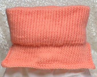 Peach Neck Warmer
