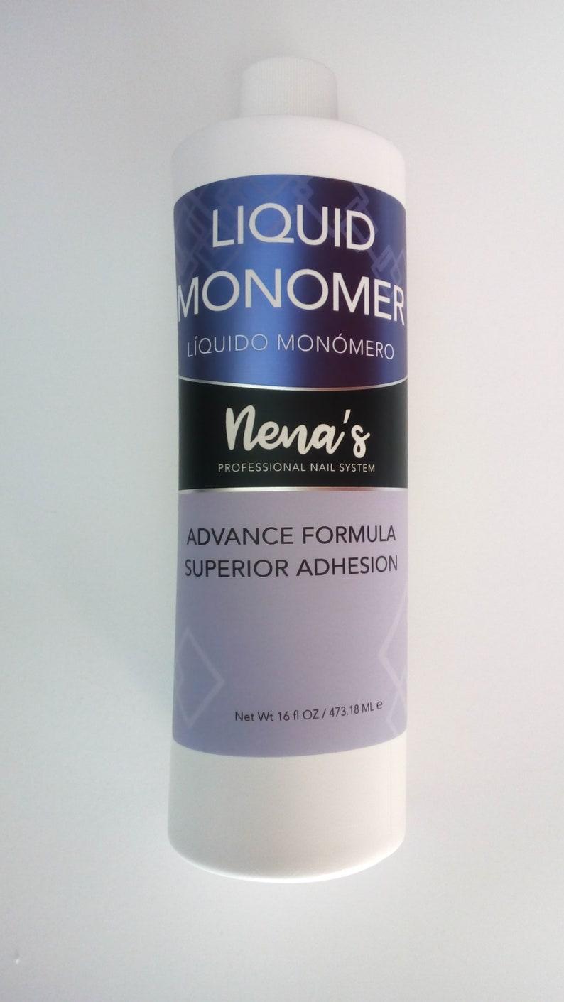 Nena's Monomer Acrylic Liquid 16oz, MMA FREE, Comparable to Mia Secret