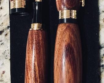 Bubinga wood- fountain pen