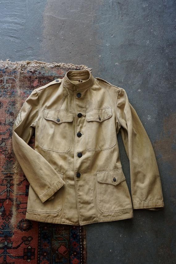 WWI US Army military summer uniform jacket | antiq