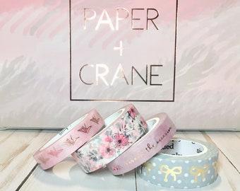 "24-25"" | Simply Gilded washi tape | Paper & Crane | April Sub Box"