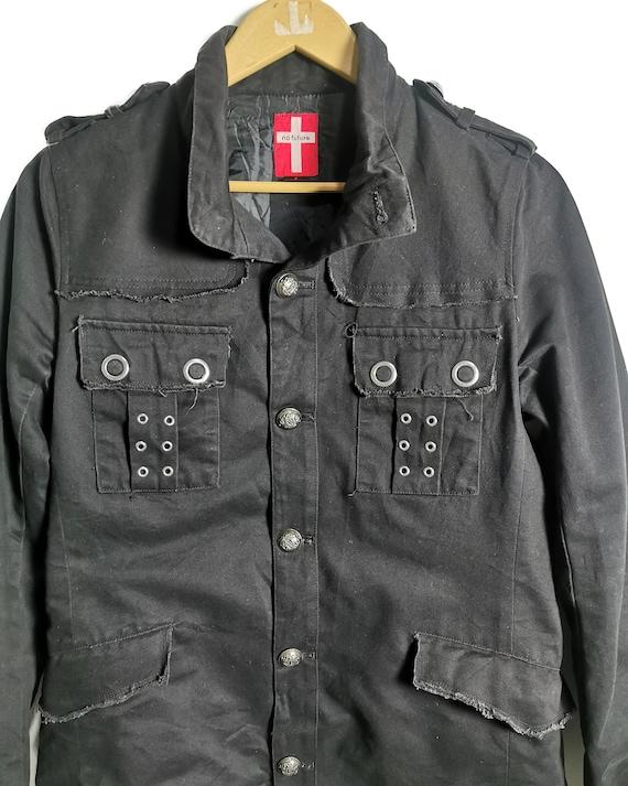 No Future Seditionaries Punk Gothic Jacket - image 3