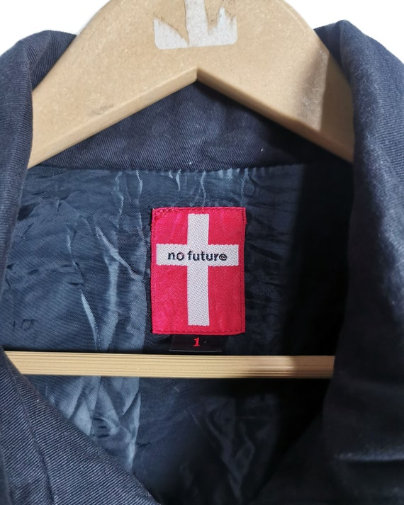 No Future Seditionaries Punk Gothic Jacket - image 5